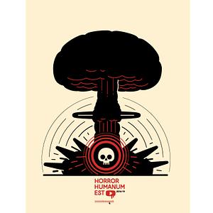 horror humanum est poster nuke